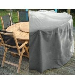Weather Cover - Large Round Table - Chairs