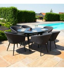 AMBITION 6 SEAT OVAL DINING