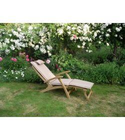 Steamer outdoor cushion - Bedrock