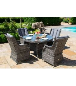 Victoria 4 Seater Round Dining Set