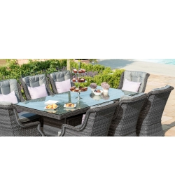 Victoria 8 Seater Rectangular Dining Set