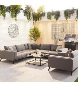 Infinity Fabric Corner Sofa & Armchair