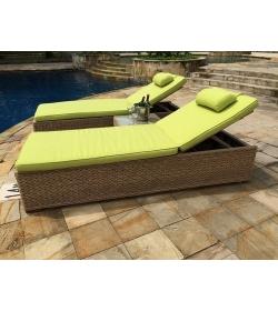 Montana & Fiji Sun Lounger   Replacement Cushion