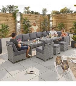 Ciara Deluxe Extending RH Corner Sofa Set