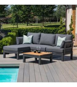 Oslo Chaise Sofa Set