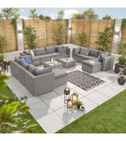 Chelsea 4A Rattan Corner Sofa Set