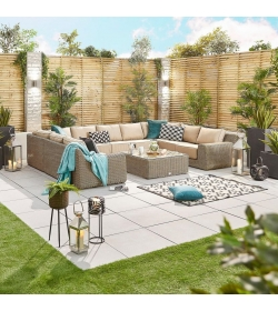 Luxor 5A Rattan Corner Sofa Set