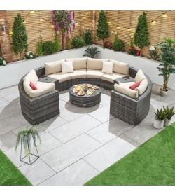 Kensington 2A Rattan Corner Sofa Set