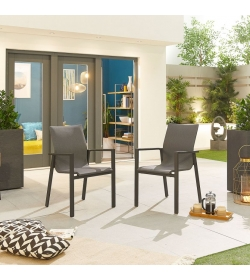 Pack of 6 Roma Dining Armchairs