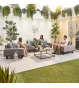 Tranquility Outdoor Fabric 2 Seater Sofa Set