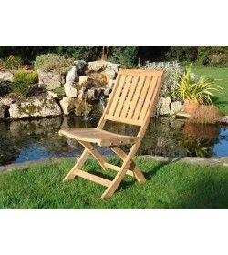 Henley folding diner chair