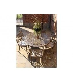 Casino 6 seater Oval table & chairs Set