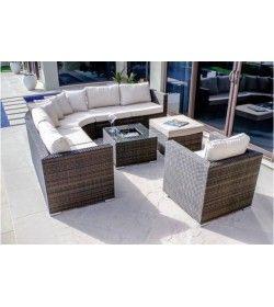 Barcelona corner set & Chair
